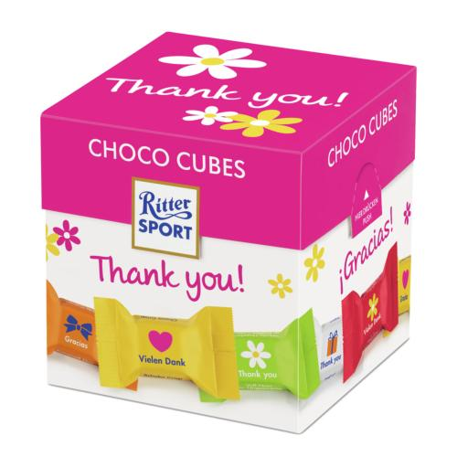 Ritter Sport - Choco Cubes 'Thank You' (8x176g)