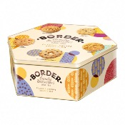 Border 400g Hex Tin - Classic Recipe Selection