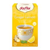 Yogi Tea - Organic Ginger Lemon (6x17's)