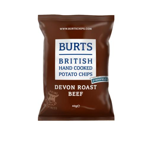 Burts GF Small - Devon Roast Beef (20x40g)