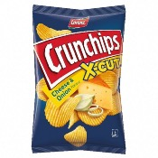 Lorenz - Crunchips X-Cut Cheese & Onion (10x150g)