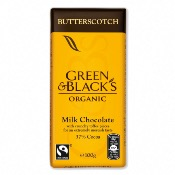 Green & Black's Organic Butterscotch Chocolate Bar (15x100g)