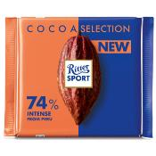 Ritter Sport - Dark 74% Intense from Peru (12x100g)