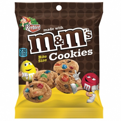 M&M's Bitsize Cookie Bags (30x45g)