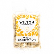 Wilton Wholefoods - Whole Cashews (12x100g)