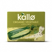 Kallo - GF Organic Vegetable Stock Cubes (15x66g)