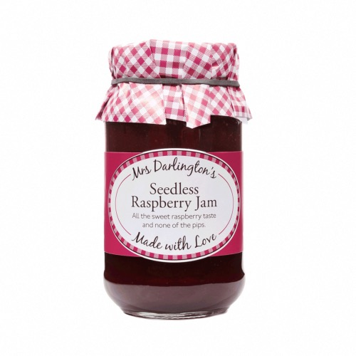 Mrs Darlington - Seedless Raspberry Jam (6x340g)
