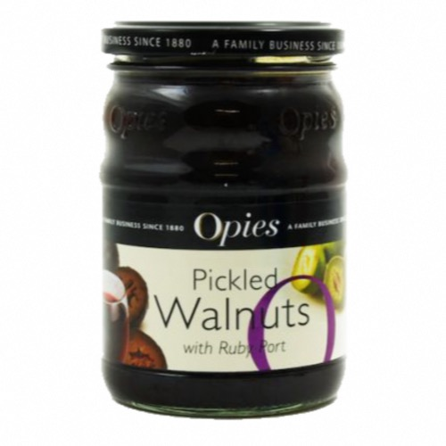 Opies - Pickled Walnuts in Port (6x370g)