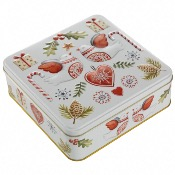 Farmhouse - Turtle Dove Square Tin (8x400g)