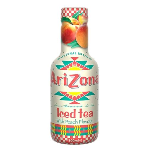 AriZona - Iced Tea with Peach (6x500ml)