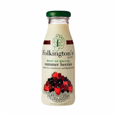 Folkington's - Best Of British Summer Berries (12x250ml)
