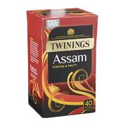 Twinings Tea Bags - 'Assam' (4x40's)