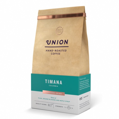 Union Coffee 'Ground' Timana - Colombia (6x200g)