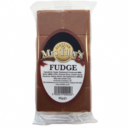 Mrs Tilly's GF - Traditional Fudge Bar (30x95g)