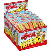 efrutti - GF Gummi Hot Dog Display (60x9g)