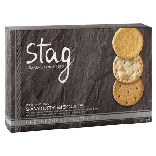 Stag - Savoury 'Cheeseboard' Selection (6x200g)