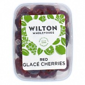 Wilton Wholefoods - Red Glace Cherries (12x200g)