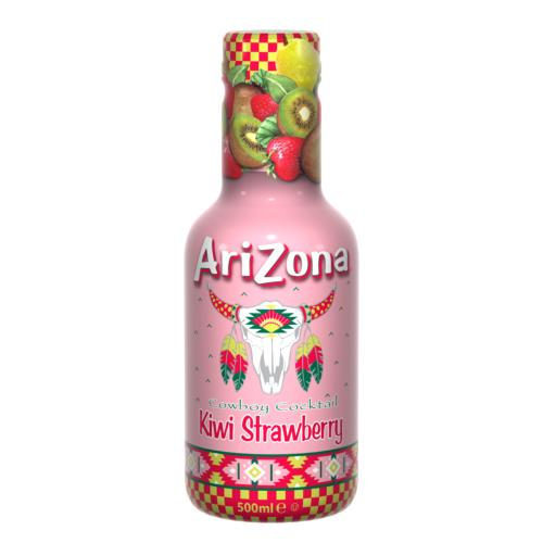 AriZona - Cowboy Cocktail 'Kiwi Strawberry' (6x500ml)