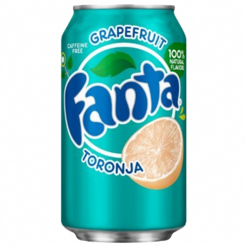Fanta U.S. - Grapefruit Soda (24x355ml)