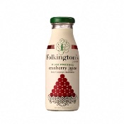 Folkington's - Pure Pressed Cranberry Juice (12x250ml)