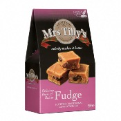 Mrs Tilly's GF - Rum & Raisin Fudge (6x150g)