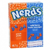 Nerds - Peach & Wildberry (24x46.7g)