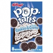 U.S. Kellogg's Pop Tarts - 8 Cookies & Cream (12x400g)