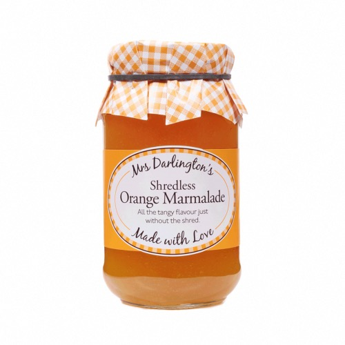 Mrs Darlington - Shredless Orange Marmalade (6x340g)