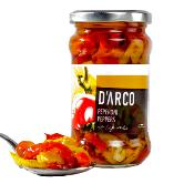 D'ARCO - 'Italian' Red & Yellow Peppers (12x280g)