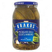 Krakus - Dill Pickled Cucumbers (6x920g)