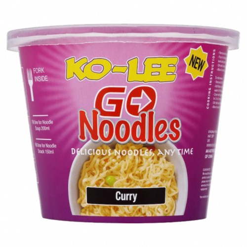 Ko-Lee - Cup Noodles 'Curry' (6x65g)