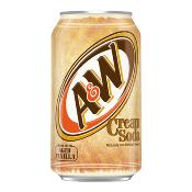A&W U.S. - Cream Soda (24x355ml)