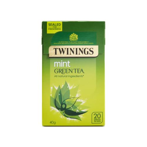 Twinings - Green Tea and Mint (4x20's)
