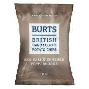 Burts GF LARGE - Sea Salt & Crushed Peppercorn (10x150g)