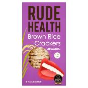 Rude Health - GF Organic Brown Rice Crackers (5x130g)