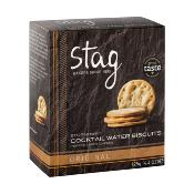 Stag - 'Cocktail' Water Biscuits (12x125g)