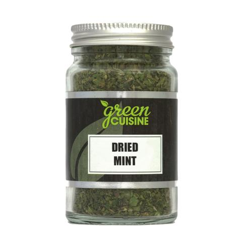 Green Cuisine 'Jars' - Mint Dried (6x50g)