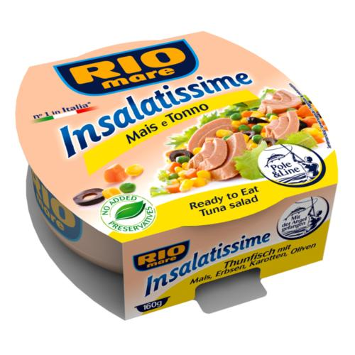 Rio Mare - 'Salad' Tuna & Sweetcorn (9x160g)